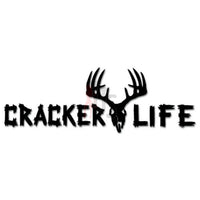 Hunting Deer Buck Cracker Life Decal Sticker