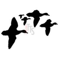 Ducks Geese Flying Hunting Decal Sticker Style 3