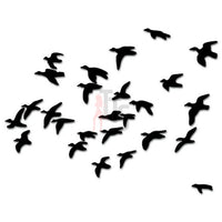 Ducks Geese Flying Hunting Decal Sticker Style 4