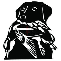 Labrador Dog Duck Hunting Decal Sticker