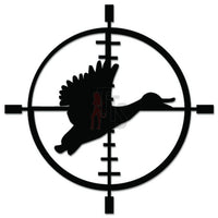 Duck Goose Hunting Crosshairs Target Decal Sticker