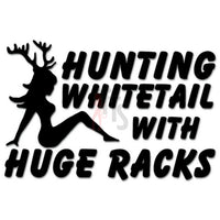 Hunting Whitetail Huge Racks Sexy Deer Buck Decal Sticker