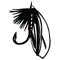 Bait Lure Hook Fishing Decal Sticker Style 8