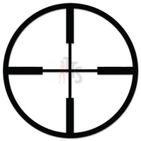 Sniper Crosshairs Scope Target Hunting Decal Sticker Style 2