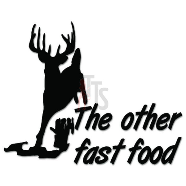 Deer Buck Hunting Other Fast Food Decal Sticker