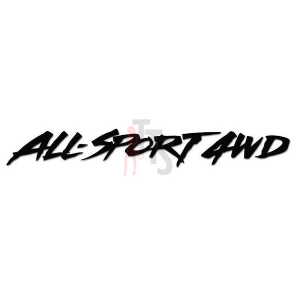 Sport 4x4 Off Road Decal Sticker Style 4