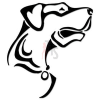 Rottweiler Dog Tribal Art Decal Sticker