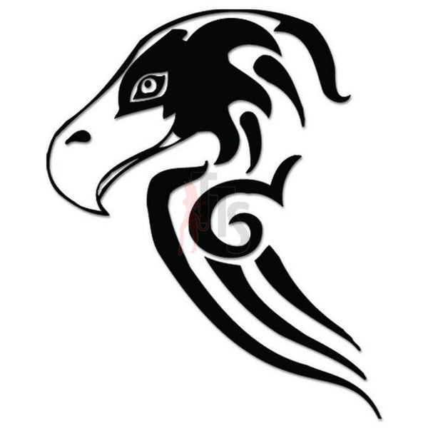 Seahawk Eagle Bird Tribal Art Decal Sticker