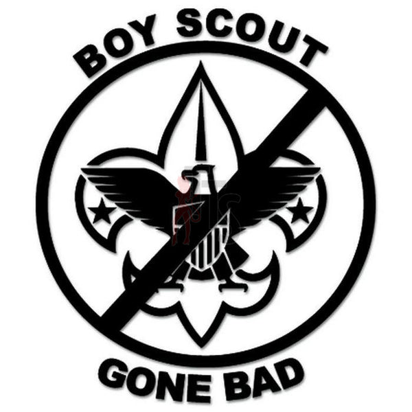 Boy Scout Gone Bad Decal Sticker