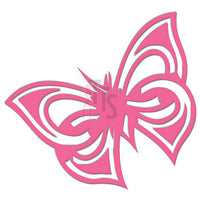 Butterfly Tribal Art Decal Sticker Style 1
