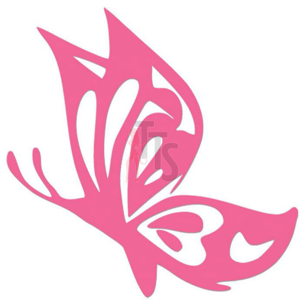 Butterfly Tribal Art Decal Sticker Style 8