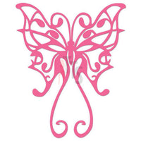 Butterfly Tribal Art Decal Sticker Style 4