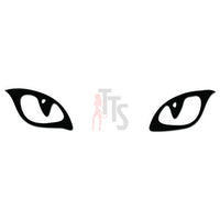 Cat Eyes Pet Decal Sticker