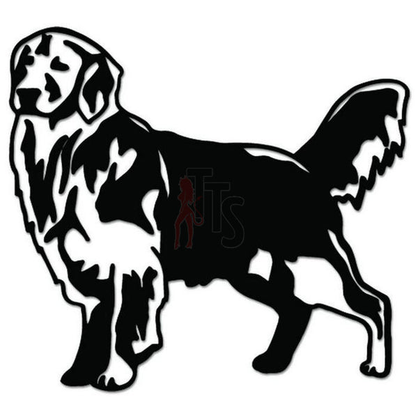 Golden Retriever Dog Pet Decal Sticker