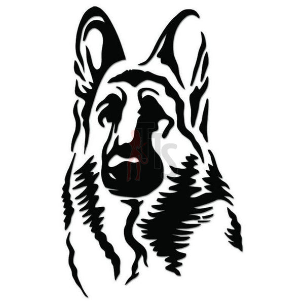 German Shepherd Dog Pet Decal Sticker