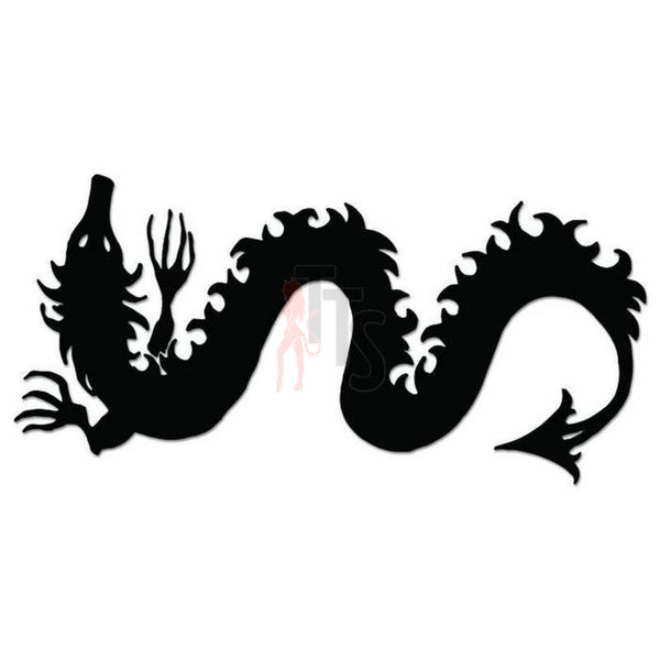 Dragon Tribal Art Decal Sticker Style 1