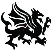Dragon Tribal Art Decal Sticker Style 2