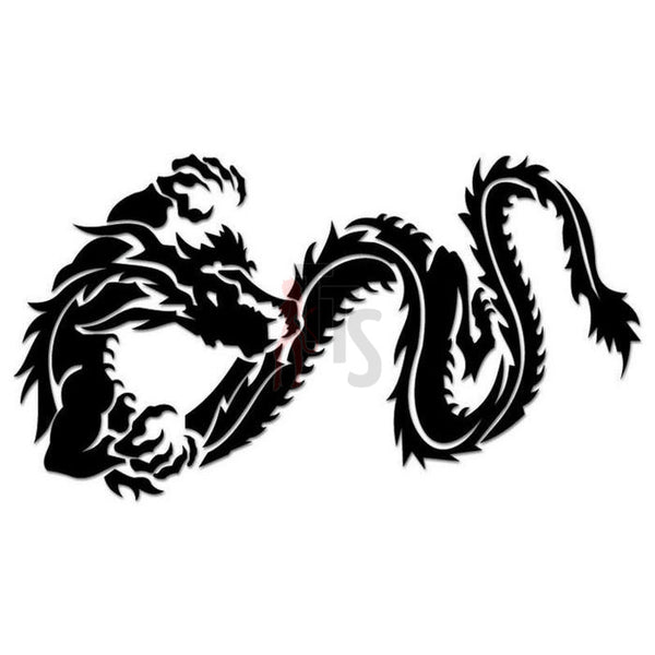 Dragon Tribal Art Decal Sticker Style 3