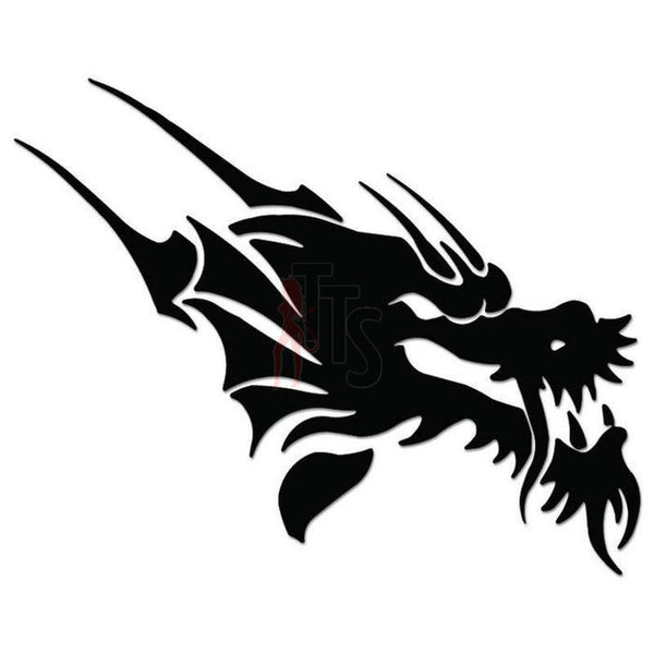 Dragon Tribal Art Decal Sticker Style 4