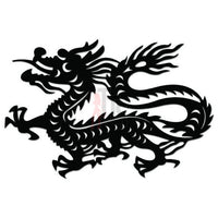 Dragon Tribal Art Decal Sticker Style 5