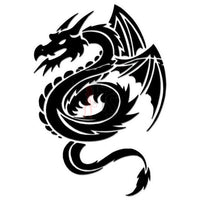 Dragon Tribal Art Decal Sticker Style 14