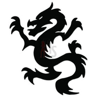 Dragon Tribal Art Decal Sticker Style 16