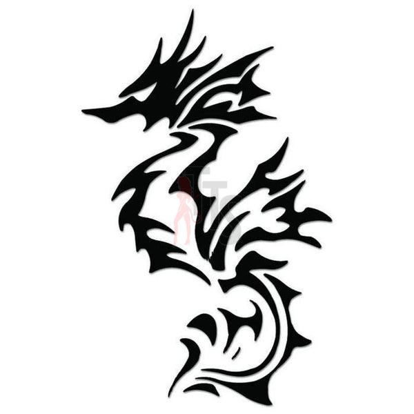 Dragon Tribal Art Decal Sticker Style 17