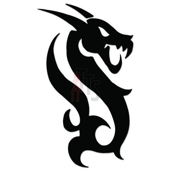 Dragon Tribal Art Decal Sticker Style 18