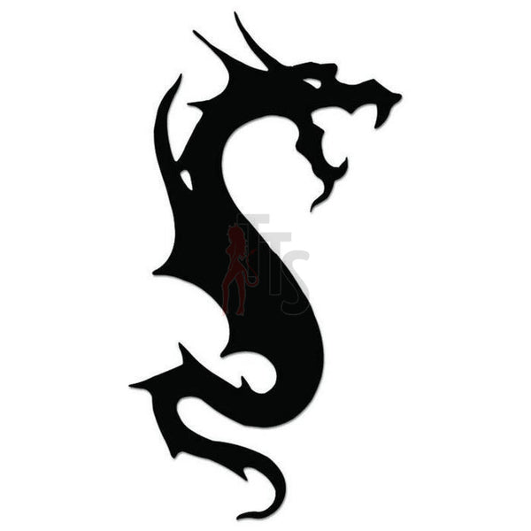 Dragon Tribal Art Decal Sticker Style 19