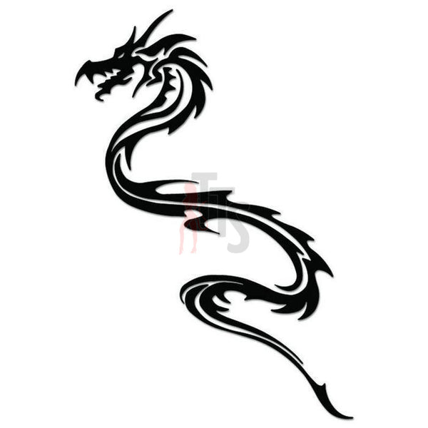 Dragon Tribal Art Decal Sticker Style 20