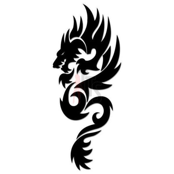 Dragon Tribal Art Decal Sticker Style 21