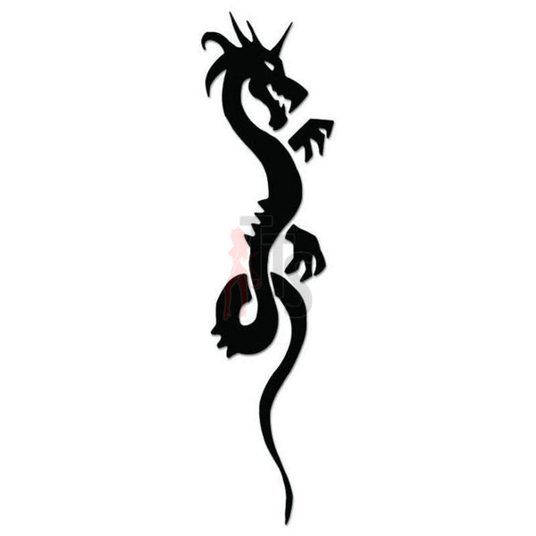 Dragon Tribal Art Decal Sticker Style 23