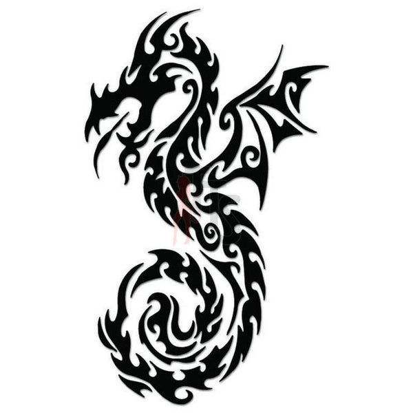 Dragon Tribal Art Decal Sticker Style 24