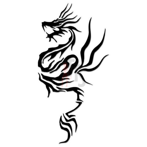 Dragon Tribal Art Decal Sticker Style 28