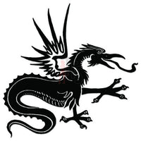 Dragon Tribal Art Decal Sticker Style 29