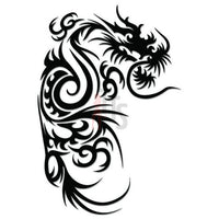 Dragon Tribal Art Decal Sticker Style 31