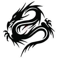 Dragon Tribal Art Decal Sticker Style 33