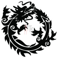 Dragon Tribal Art Decal Sticker Style 34