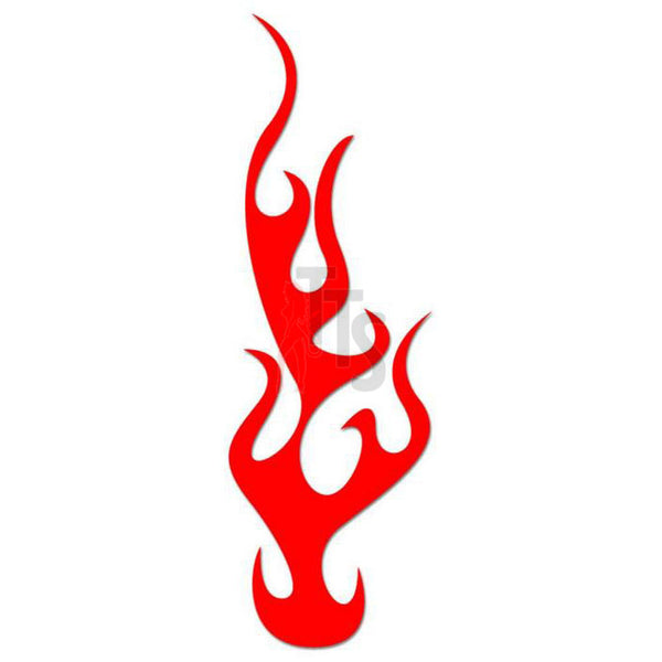 Flame Fire Tribal Art Decal Sticker Style 15