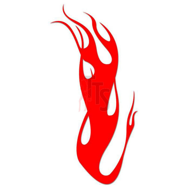Flame Fire Tribal Art Decal Sticker Style 18