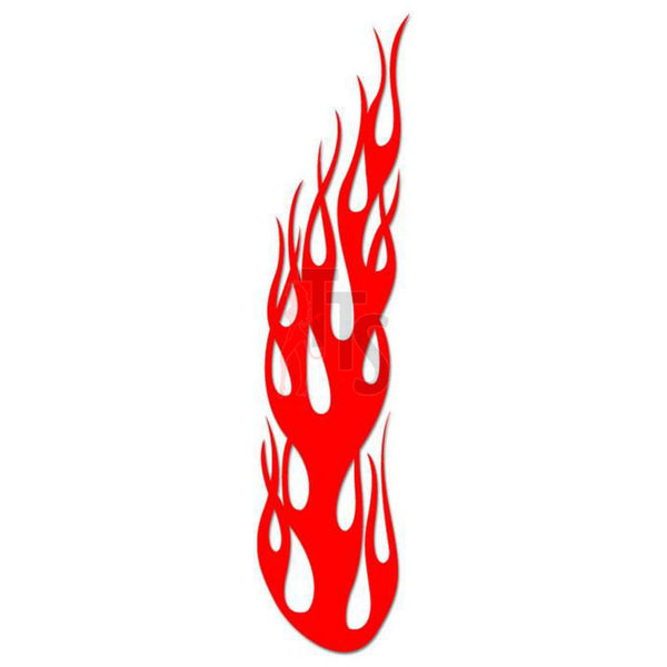 Flame Fire Tribal Art Decal Sticker Style 19