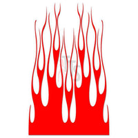 Flame Fire Tribal Art Decal Sticker Style 39