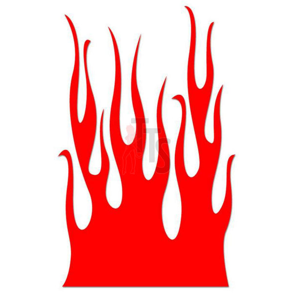 Flame Fire Tribal Art Decal Sticker Style 41