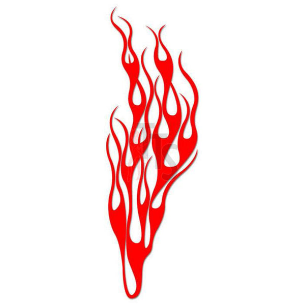 Flame Fire Tribal Art Decal Sticker Style 50