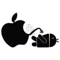 Apple Piss On Android Decal Sticker