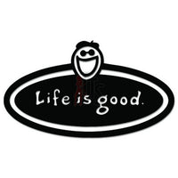 Life Is Good Decal Sticker