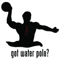 Got Water Polo Swimming Decal Sticker