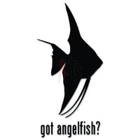 Got Angelfish Fish Pet Decal Sticker