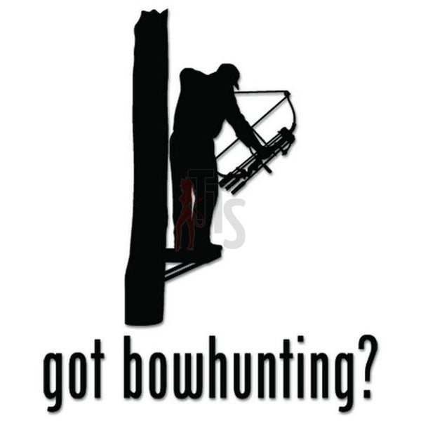 Got Bowhunting Tree Sniper Decal Sticker