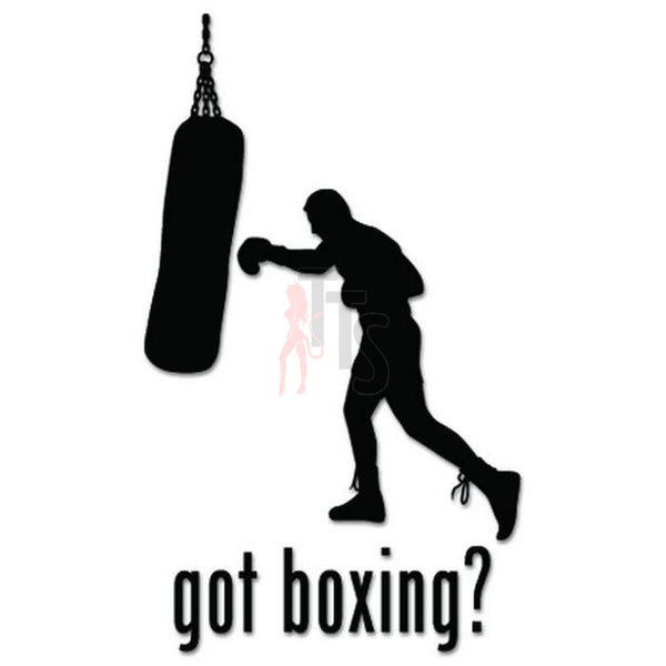 Got Boxing Sport Decal Sticker